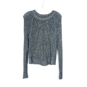 Lucky Brand Tomorrow Long Sleeve Metallic Sweater